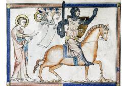 14th Century Armoured Horseman