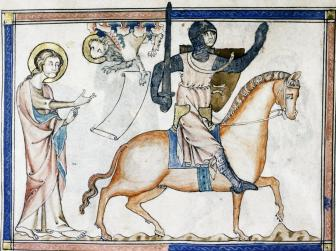 14th Century Armoured Horseman