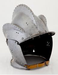 German ,  Triple-Combed Open Burgonet