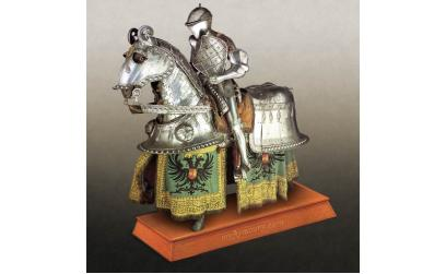 """Valladolid Garniture"" Tournament Armour of Charles V, Holy Roman Emperor, King of Aragon, Castile, Naples, Sicily, and ruler of territories in Burgundy (1500-1558)"