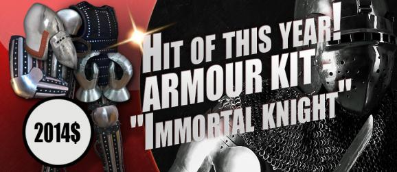 "Hit of this year! Armour kit ""Immortal knight"""