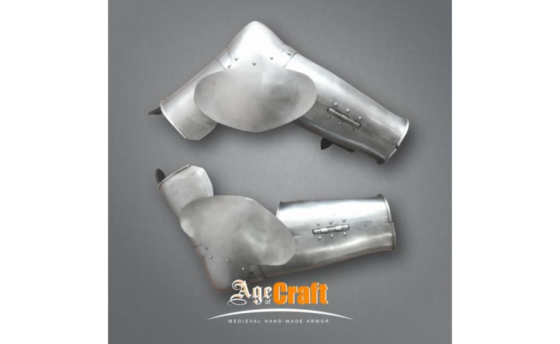 Try new arm protection - Simple vambraces from Milan!