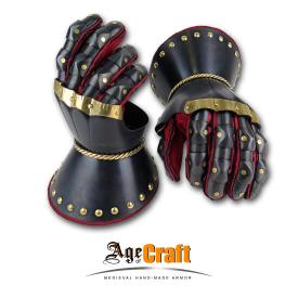 "Hourglass gauntlets ""Dark knight"""