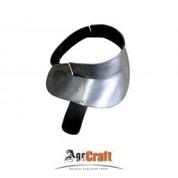 Steel gorget for cuirass