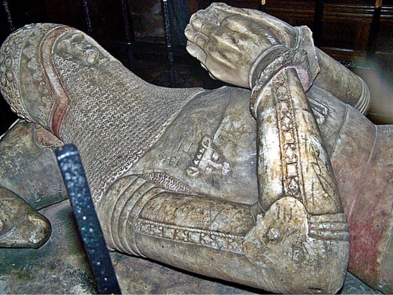 Arms Sir Hugh Calveley: Historical Sources Image