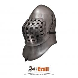 Great bascinet with trellis visor