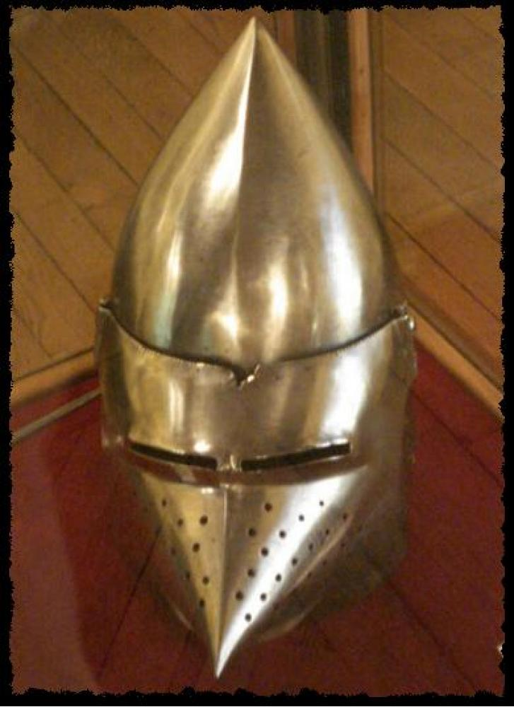 Bascinet with a visor Hounscull: Historical Sources Image