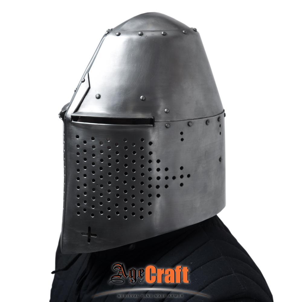Medieval Great Helms for Sale – Helm of Richard Pembridge
