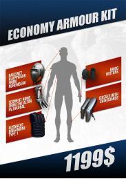 Economy armour kit