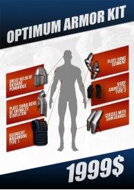 Optimum armour kit