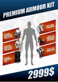 Premium armour kit
