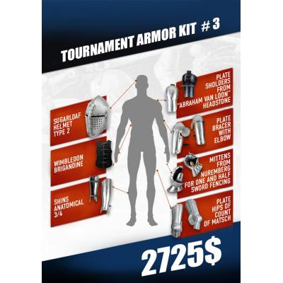 Tournament Armor kit #3