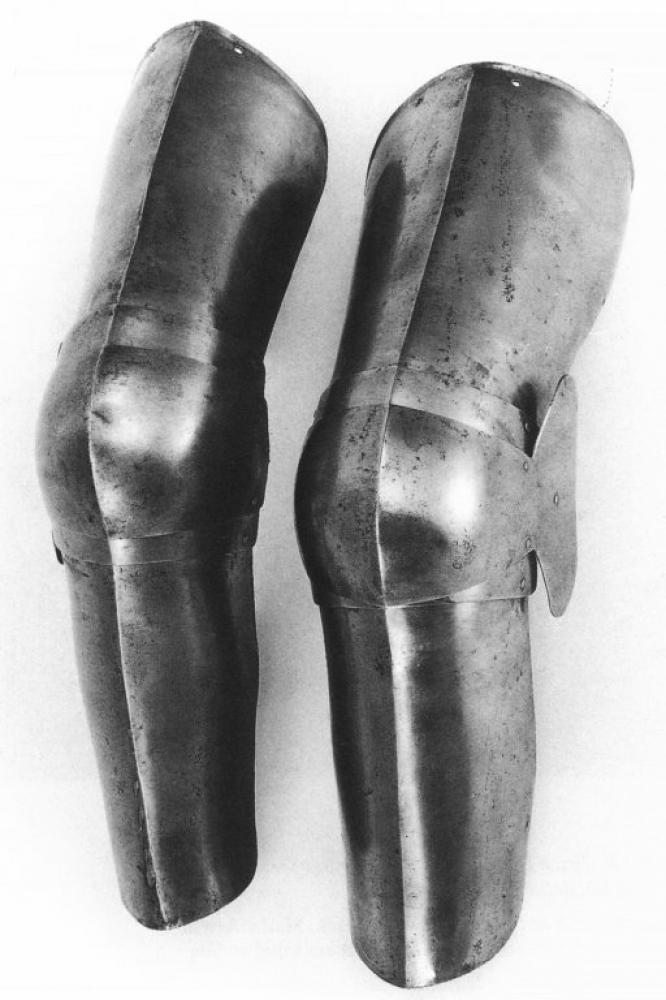 Cuisses with shin guards: Historical Sources Image