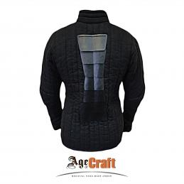 Body padding with spine protection