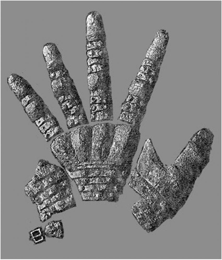 Visby gauntlets Type 3: Historical Sources Image