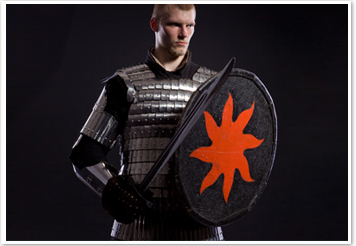 Hand-Crafted Armor for HMB (historical medieval battle)